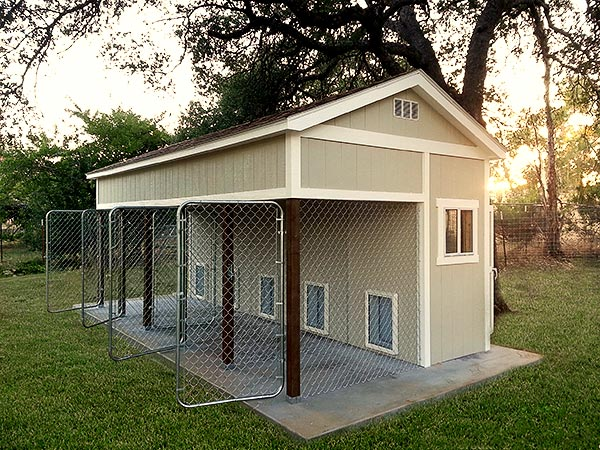 Tuff shed gallery for Dog boarding in homes