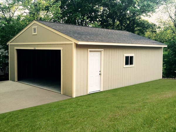 Tuff shed gallery for Two car garage shed