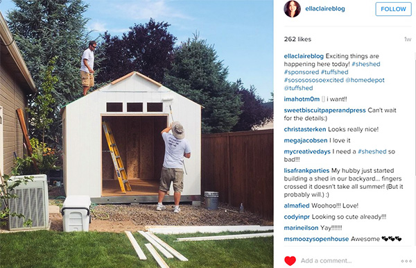 An Inspirational Diy Blogger Joins The She Shed Club