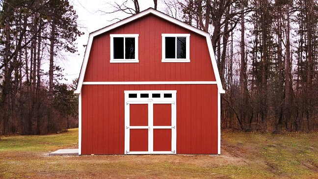What Better Space For An Artistu0027s Studio Than An Inspiring Tuff Shed  Building. The Smiths Of Ypsilanti, Michigan Knew Their Newest Architectural  Addition ...