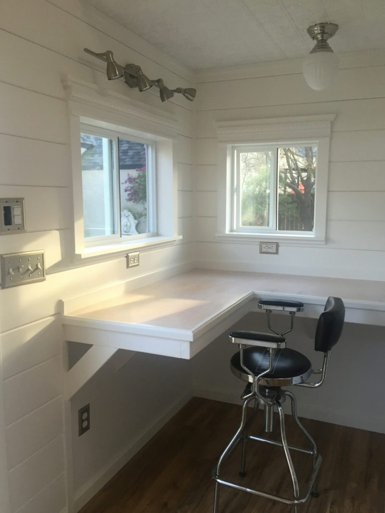 Tuff Shed Home Office Full Bloom