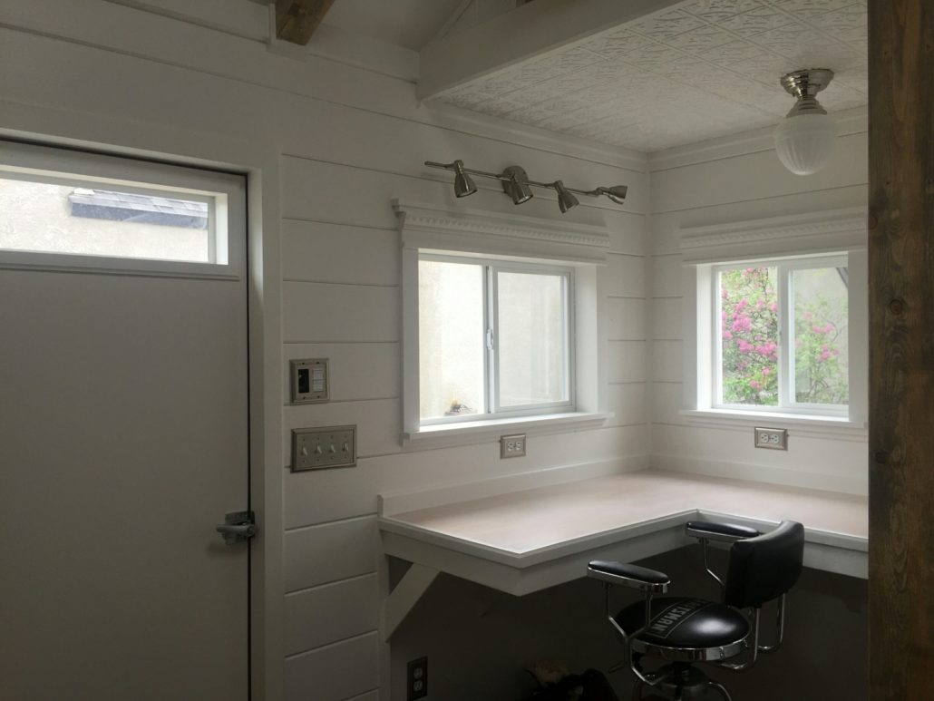 Tuff Shed A Home Office In Full Bloom