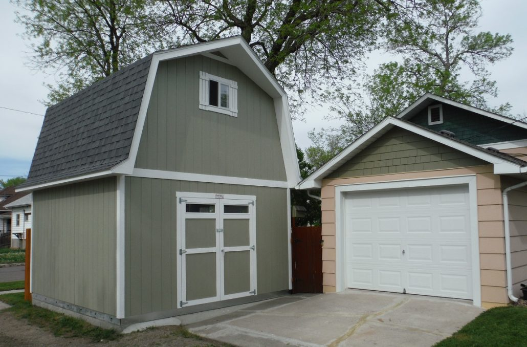 Tuff shed putting the garage to shame for Tuff sheds