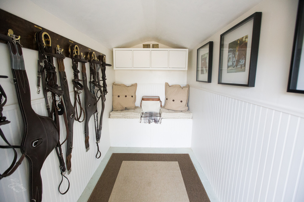 Tuff Shed Style and Functionality the Tuff Shed Tack Room