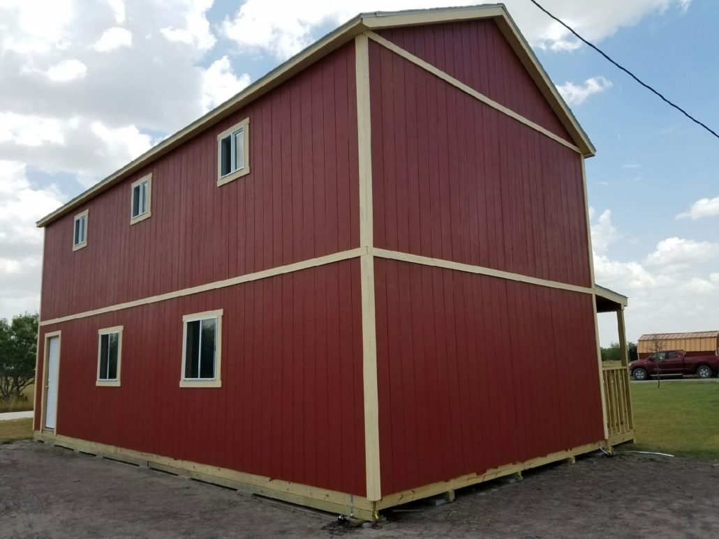 Tuff shed just right for texas for Tuff sheds