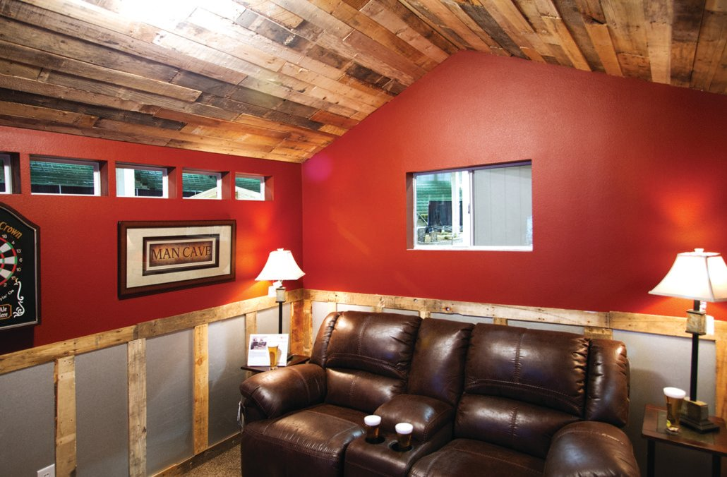 Man Cave Storage Locations : Tuff shed the ultimate man cave