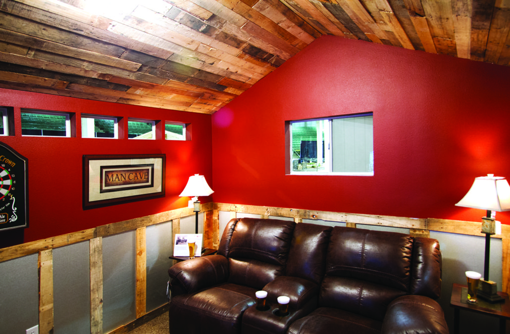 Sheds Made Into Man Caves : Garage made into man cave home desain