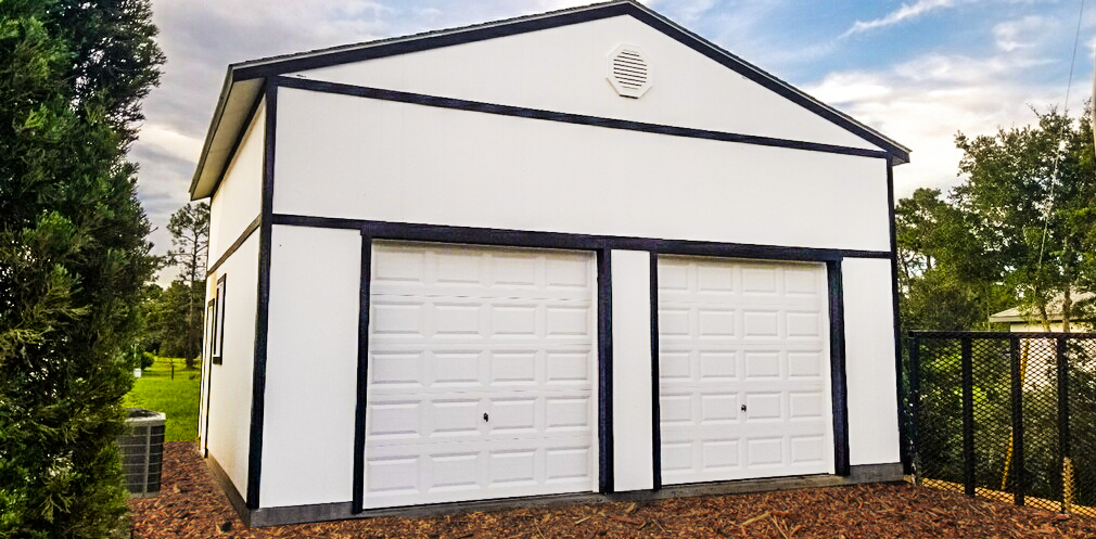 One Large Garage Tuff Shed
